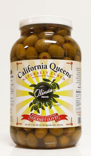 Olinda Olives - California Queen Olives (Pimento Stuffed)