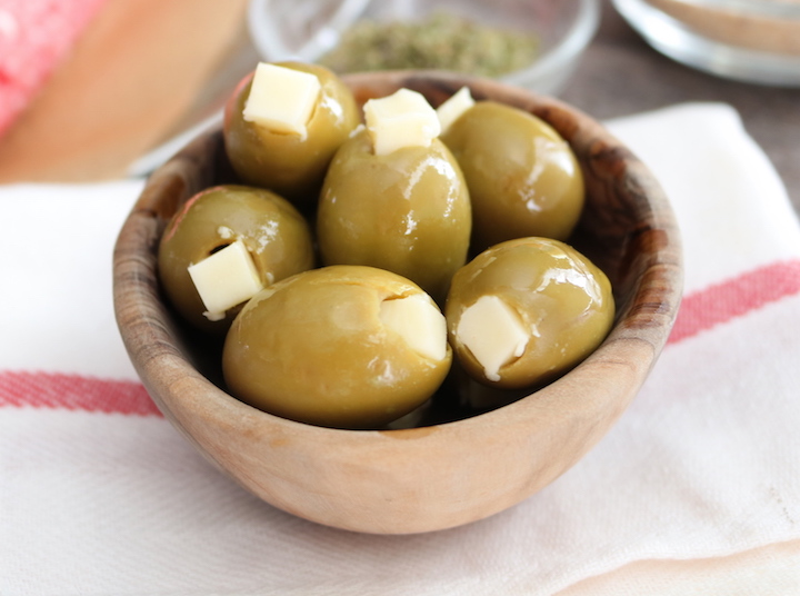 Olinda Olives Jumbo Bar Olives Cheese Stuffed