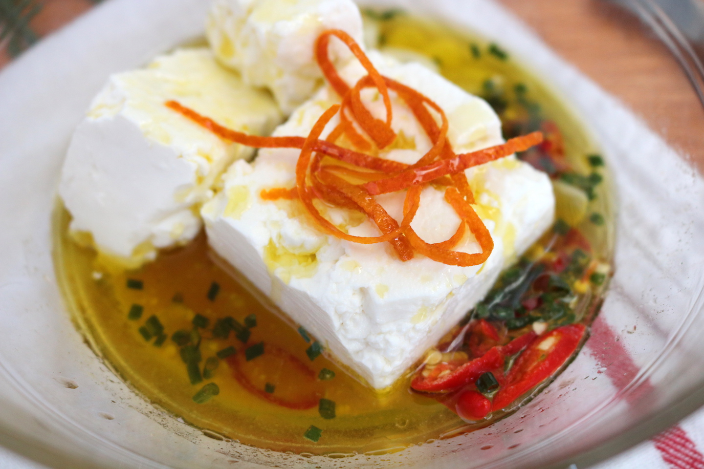 Olinda Olive and Olive Oil Chef Inspired Recipe Marinated Feta